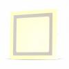V-tac 6W+2W Felületre szerelhető négyszög LED Panel 4000K - 4923