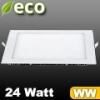 V-tac ECO LED panel (négyzet alakú) 24W - meleg fehér