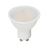 V-tac GU10 LED lámpa 5 Watt (110°) PRO - Opál term. fehér
