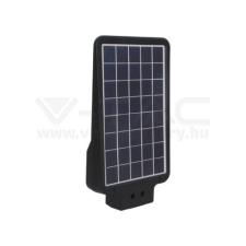 V-tac LED Közvilágítás Napelemes (solar) 15W fekete színű 6000K - 8548 kültéri világítás