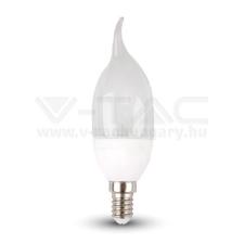 V-tac Led lámpa E14 4W gyertyaláng 4500K - 4156 izzó