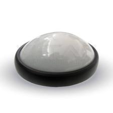 V-tac LED mennyezeti lámpatest, fekete 8W 3000K - 1261 világítás
