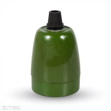 V-tac Porcelán E27 foglalat zöld - 3797 világítás