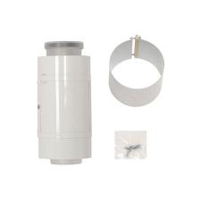 Vaillant egyenes ellenőrző idom PPs/alu 60/100mm hűtés, fűtés szerelvény