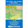 Val di Peio, Val di Rabbi, Val di Sole térkép - 048 Tabacco