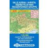 Valle Aurina / Ahrntal - Vedrette di Ries / Rieserferner Gruppe térkép - 035 Tabacco