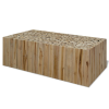valódi tíkfa dohányzóasztal 90 x 50 35 cm