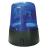 Valueline kék forgó fényű