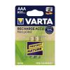 Varta 5681 - 2 db tölthető elem ACCU RECYCLED AAA Ni-MH/800mAh/1,2V