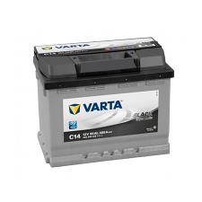 Varta 56Ah VARTA Black Dynamic C14 556400 akkumulátor jobb+ autó akkumulátor