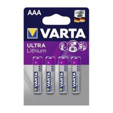 Varta Elem ceruza VARTA `Ultra Líthium` AAA 4-es elemlámpa