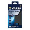 """Varta Hordozható akkumulátor VARTA """"LCD Powerbank"""" 18200mAh"""