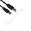 VCOM USB printer kábel 2.0 A apa - B apa 5,0m AMBM