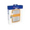 Verbatim 2,5-os HDD 1TB, USB 2.0 csatlakozás, ezüst (hordozható merevlemez)