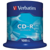 Verbatim CD-R [ cake box 100 | 700MB | 52x | DataLife ] CD lemez