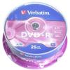 Verbatim DVD + R 16x, 25ks cakebox