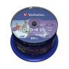 Verbatim DVD+R DL [ spindle 50 | 8,5GB | 8x ] nyomtatható Double Layer DVD lemez