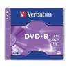 Verbatim DVD+R lemez, AZO, 4,7GB, 16x, normál tok, VERBATIM