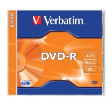 Verbatim DVD-R lemez, AZO, 4,7GB, 16x, normál tok, VERBATIM írható és újraírható média