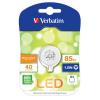 Verbatim G4 85lm 1.5W 2700K meleg fehér mini LED izzó