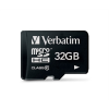 Verbatim Memóriakártya, Micro SDHC, 32GB, Class 10,
