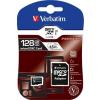 Verbatim Memóriakártya, Micro SDXC, 128GB, Class 10, adapterrel VERBATIM (MVMS128GHA)