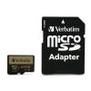 Verbatim Pro+ 64GB Class10 UHS-I microSDXC memóriakártya + adapter