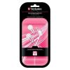 Verbatim SecureClip Earphones fehér/ rózsaszín - Fülhallgató