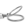 Verbatim USB kábel, microUSB B, 30 cm. VERBATIM, ezüst