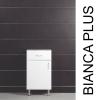 Vertex Bianca Plus 45 alacsony szekrény 1 ajtóval, 1 fiókkal, aida dió színben, balos