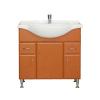 Vertex Bianca Plus 85 alsó szekrény mosdóval, rauna szil színben
