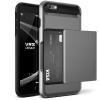 VERUS VRS Design (VERUS) iPhone 6/6S Damda Glide hátlap, tok, acél ezüst