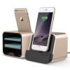VERUS VRS Design (VERUS) New i-Depot asztali dokkoló, hálózati töltő iPhone 5/5S/SE, 6, iOS kompatibilis, arany