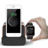 VERUS VRS Design (VERUS) New i-Depot Plus Apple Watch töltő és asztali dokkoló, hálózati töltő iPhone 5/5S/SE, 6, iPad, rose gold