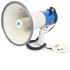 Vexus MEG065, megafon, 65 W, felvételkészítő funkció, sziréna, USB, SD, AUX, működtetés elemekkel, pánt