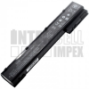 VH08 4400 mAh 8 cella fekete notebook/laptop akku/akkumulátor utángyártott