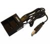 VHBW Helyettesítő USB-s akkutöltő 2db SJ Cam Qumox SJ4000 akkuhoz