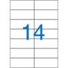 VICTORIA 105x42,4 mm univerzális Etikett (100 lap)