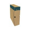 VICTORIA Archiváló doboz, A4, 80 mm, karton, VICTORIA, natúr