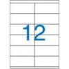 VICTORIA Etikett, univerzális, 105x48 mm, VICTORIA, 1200 etikett/csomag [100 lap]