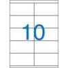 VICTORIA Etikett, univerzális, 105x57 mm, VICTORIA, 1000 etikett/csomag [100 lap]