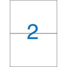 VICTORIA Etikett, univerzális, 210x148 mm, VICTORIA, 200 etikett/csomag etikett