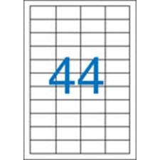 VICTORIA Etikett, univerzális, 48,5x25,4 mm, VICTORIA, 4400 etikett/csomag etikett