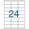 VICTORIA Etikett, univerzális, 70x35 mm, VICTORIA, 2400 etikett/csomag [100 lap]