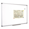 VICTORIA Fehértábla, mágneses, 100x150 cm, alumínium keret, VICTORIA
