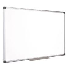 VICTORIA Fehértábla, mágneses, zománcozott, 90x180 cm, alumínium keret, VICTORIA mágnestábla