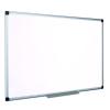 VICTORIA Fehértábla, nem mágneses, 90x180 cm, alumínium keret,