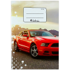 VICTORIA Ford Mustang vonalas füzet - A5-ös, 21-32
