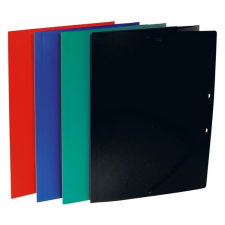 VICTORIA Gumis mappa, 15 mm, PP, A4, VICTORIA, kék mappa