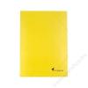 VICTORIA Gumis mappa, karton, A4, VICTORIA, sárga (IDPG02)